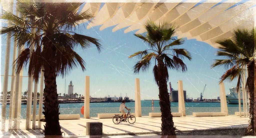 Viajeros en Málaga