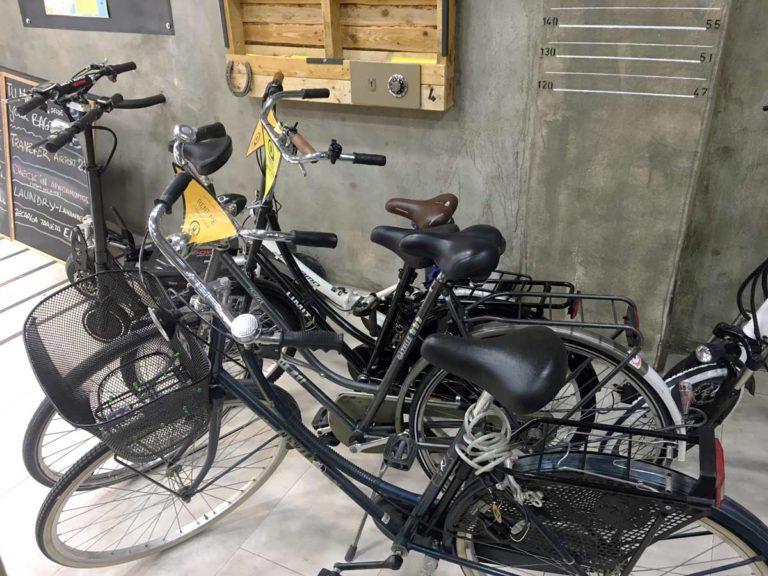 alquila tu bicicleta y guarda tus maletas